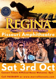 REGINA [Real Queen Exprience] CONCERT